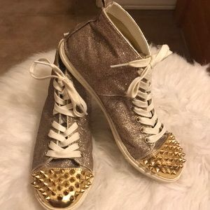 Steve Madden spiked shoes